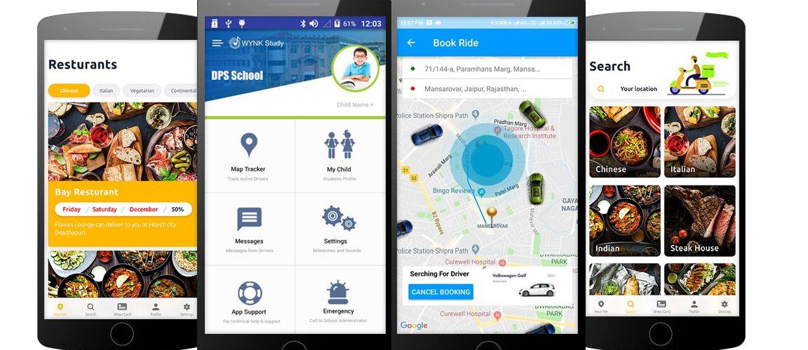 School mobile apps